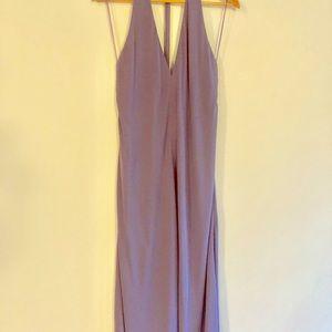Periwinkle/Lavender size 12 semi-formal dress.